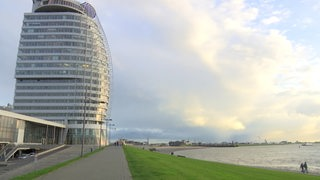 Das Atlantic Hotel Sail City in Bremerhaven.