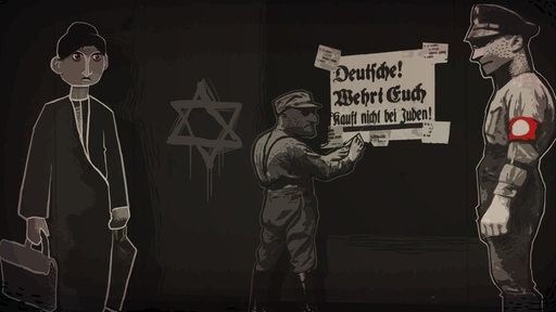 "Screenshot aus dem Computerspiel ""Through the Darkest of Times""."