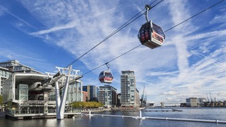 Emirates Air Line Seilbahn in London