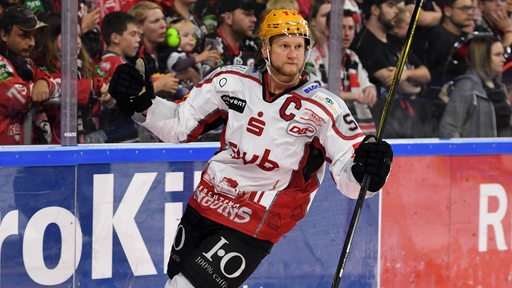 Mike Moore von den Fischtown Pinguins