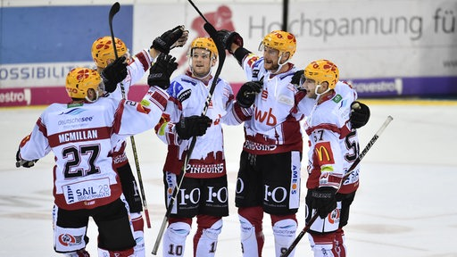 Fischtown Pinguins jubeln