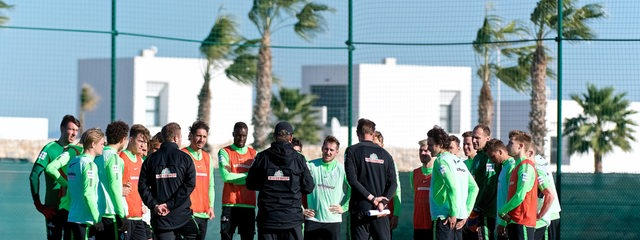 Werder Trainingslager Algarfe