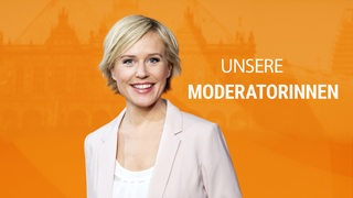Moderatorin Kirsten Rademacher
