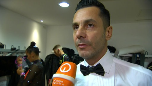 Trainer des Grün-Gold-Clubs Bremen Roberto Albanese im Interview